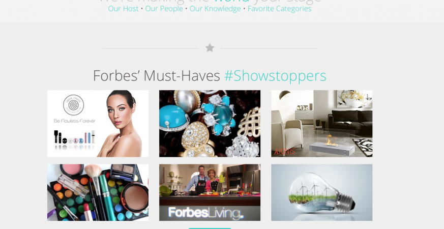 "FORBES LIVING ""MUST HAVES"" – FOREVER FLAWLESS TOP PICK"