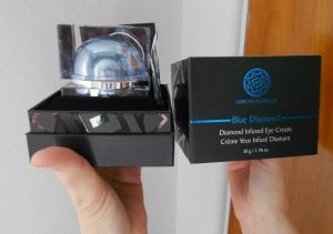 Forever Flawless Blue Diamond Infused Eye Serum and Eye Cream Review
